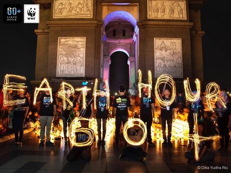 Earth Hour graphics