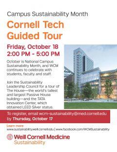 Cornell Tech Tour Poster