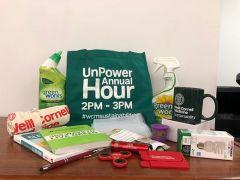 Bag kit of items for raffle